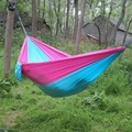 230*90cm Single person Portable Hammock Folded Into The Pouch Mosquito Net Hammock Hanging Bed Travel Kit Camping Hiking DC13