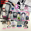 Cute Funny Cartoon Modern girl Acrylic Metal Brooch Pins Button Pins Gift Wholesale