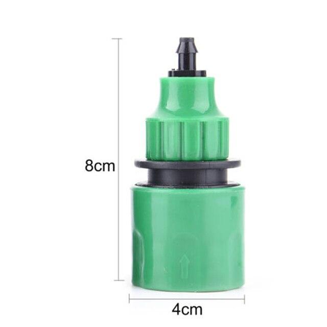 Connecteur dadaptateur de robinet | Robinet en plastique 2 pièces, raccord de tuyau 4/7mm