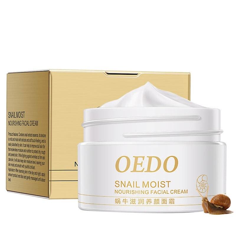 Korea Snail Face Cream Moist Nourishing Facial Anti Wrinkle Firming Skin Care Day Night Cream Face Skin Care Essence