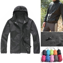Unisex Waterproof Windproof Nylon Bike Jacket Bicycle Running Outdoor Sports Rain Coat 6 colors optional