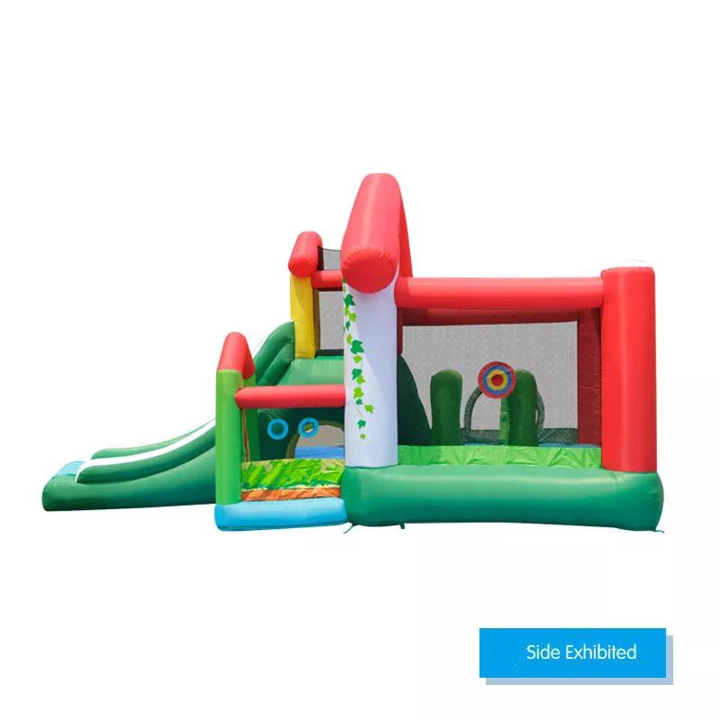 HTB1b4GVPFXXXXarapXXq6xXFXXXd - Mr. Fun Residential Inflatable Kids Bouncer Trampoline Bounce House with Blower