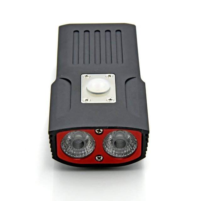 Cooloh USB Bicycle Headlight Rechargeable LED Bike Light 18650 Mount Super Bright