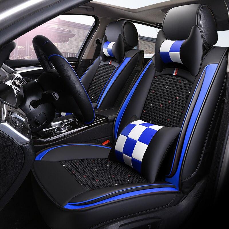 Housse de siège de voiture pour BENZ/Jeep/HYUNDAI/Toyota/Peugeot/Volkswagen/Honda/BMW/Renault/Nissian/Mini/Audi/citroën/Kia housse de siège de voiture