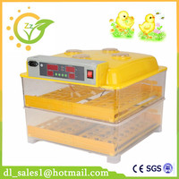 CE Mini Capacity 96 Full Automatic Egg Incubator For Chicken With Digital Commercial Thermostat Control 220V