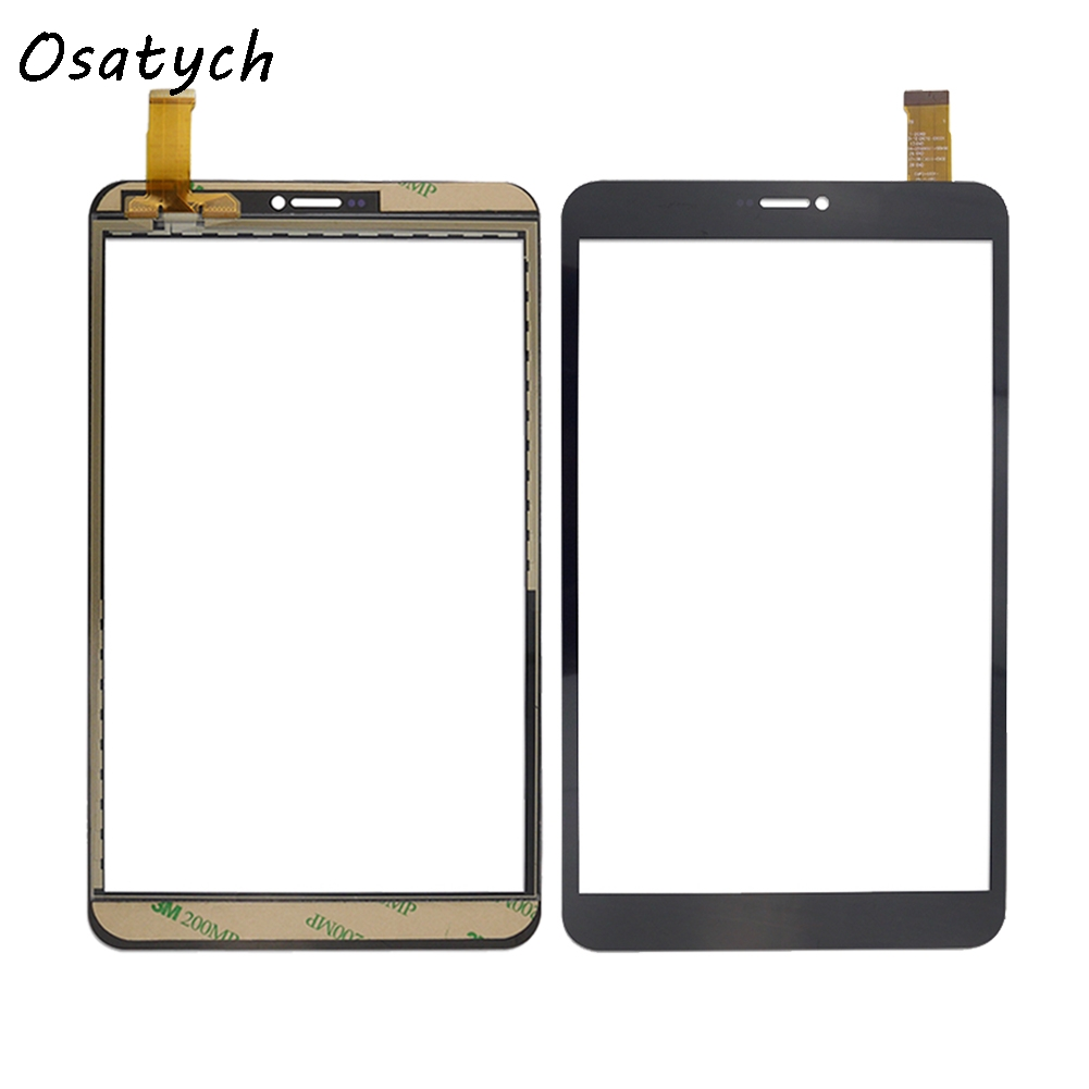 8 Inch Black Touch Screen for dxp2-0331-080a-fpc touch screen digitizer sensor tablet panel repairment free shipping 19 inch infrared multi touch screen overlay kit 2 points 19 ir touch frame