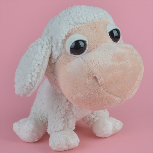 25cm big eyes lamb plush toy baby gift kids sheep toy wholesale with free shipping in stuffed. Black Bedroom Furniture Sets. Home Design Ideas