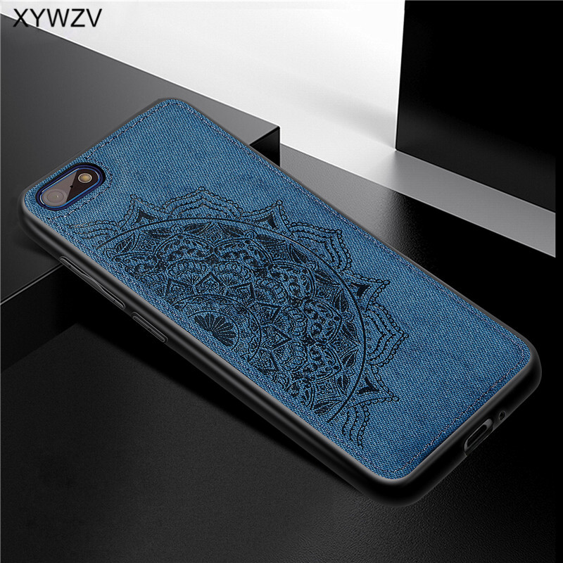 Image 3 - Huawei Y5 Prime 2018 Case Shockproof Soft Silicone Luxury Cloth Texture Phone Case For Huawei Y5 Prime 2018 Cover Huawei Y5 2018-in Fitted Cases from Cellphones & Telecommunications