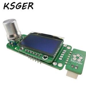 Image 2 - KSGER V 2,01 STM32 OLED T12 Elektrische Lötkolben Temperatur Löten Station Controller T12 K T12 JL02 Lötkolben Spitze