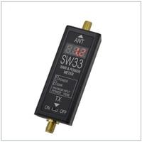 SW-33 디지털 VHF/UHF 125-525 백만헤르쯔 전원 및 V.S.W.R 미터 무전기 양방향 라디
