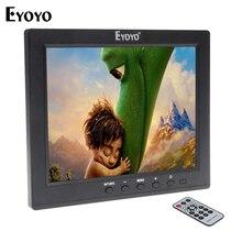 Eyoyo 8 Pouce IPS LCD HD Moniteur HDMI VGA BNC Moniteur de Sécurité vidéo Audio USB Interface pour MP5 DVR PC CCTV avec Télécommande
