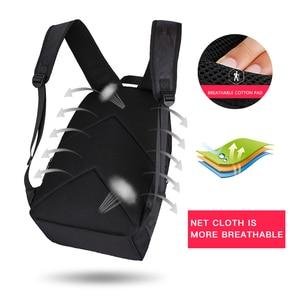 Image 3 - Рюкзак Hk мужской с USB портом для ноутбука 15 дюймов, маленький школьный ранец из ткани Оксфорд, удобный Молодежный дорожный портфель на плечо для мужчин и женщин