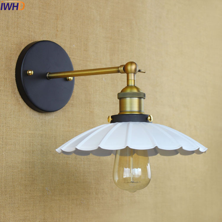 Loft Style Vintage Wall Lamp Antique Home Lighting Retro Industrial Wall Light Fixtures Edison Wall Sconce Arandela retro vintage industrial wall lamp lights fixtures indoor lighting in loft style arandela aplik edison wall sconce