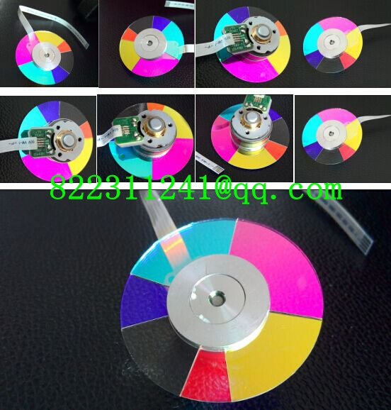 ФОТО NEW original Projector Color Wheel for benq W600+ Projector Color wheel