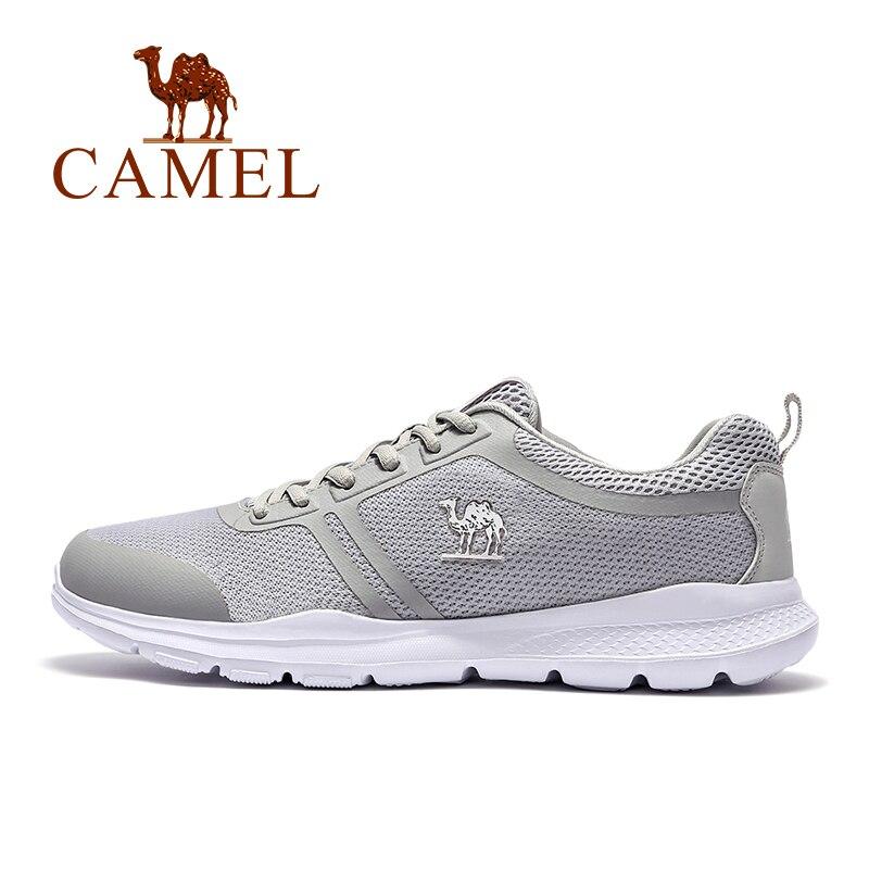 Assorbente Scarpe Portatile Mesh Confortevole grigie uomo Outdoor Sneakers Scarpe Air Fittness Per Me nere Traspirante Shock da Camel Escursionismo Scarpe w0q58tn