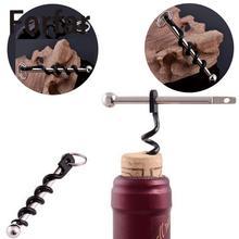 Красное вино, для повседневного использования, Twist Stick штопор Нержавеющая сталь пробка бутылки пулер открывашка брелок для кемпинга Профессиональный пробка для шампанского