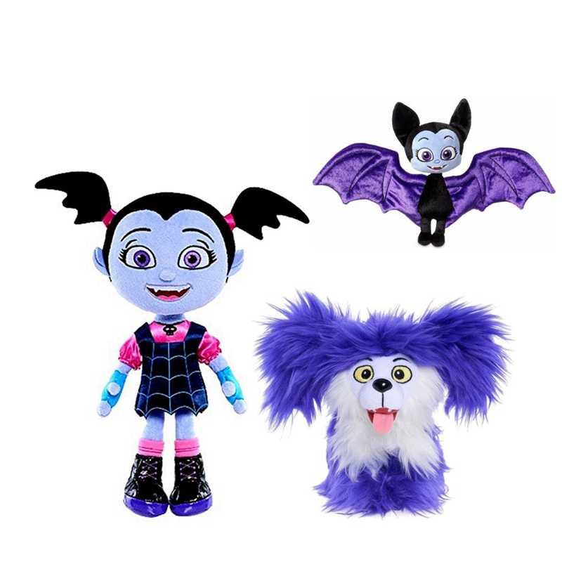 25 см Vampirina The Vamp летучая мышь девочка и фиолетовая собака плюшевая игрушка для детей рождественские подарки для девушек