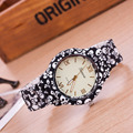 2016 new Sport  Quartz Watch Women Dress Watches Female Flower Geneva Watch Plastic Clock Relogio Feminino Relojes Mujer