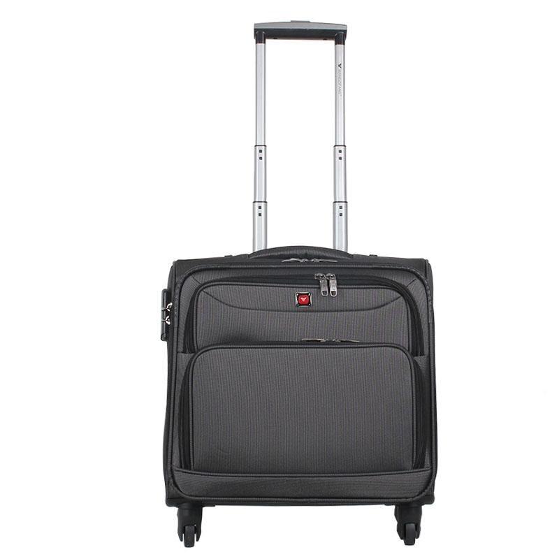 plus de photos 80951 e6020 Hommes 16''Nylon bagage à main femmes petite valise ...