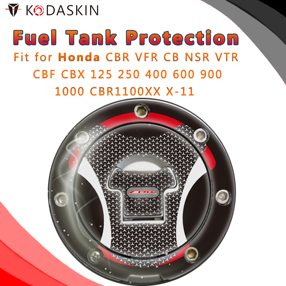 Motorcycle Tank Pad Decal Protector Stickers For Honda CBR VFR CB NSR VTR CBF CBX  125 250 400 600 900 Cbr1000 CBR1100XX X-11