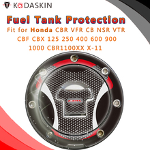 Motorcycle Tank Pad Decal Protector Stickers for Honda CBR VFR CB NSR VTR CBF CBX 125