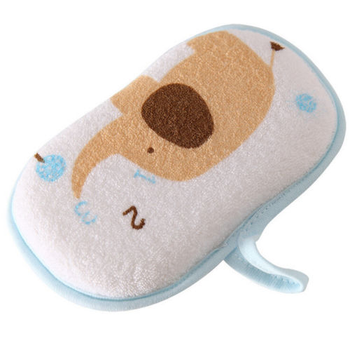 Furniture Cheap Price Baby Kids Cute Elephant Bath Brushes Bath Sponge Baby Shower Convenient Product