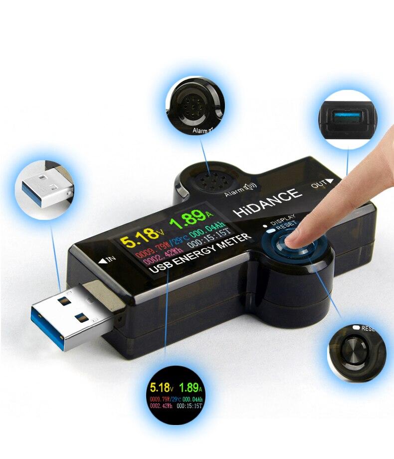 USB 3 0 TFT 13in1 USB tester APP dc digital voltmeter ammeter voltimetro power bank voltage USB 3.0 TFT 13in1 USB tester APP dc digital voltmeter ammeter voltimetro power bank voltage detector volt meter electric doctor