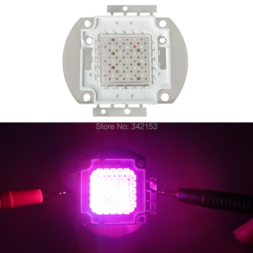 ФОТО High Power Grow Led Emitter Light 72W Chip Array Multiband 7 Band Full Spectrum Led Lamp For Plant Seeding/Growing/Flowering