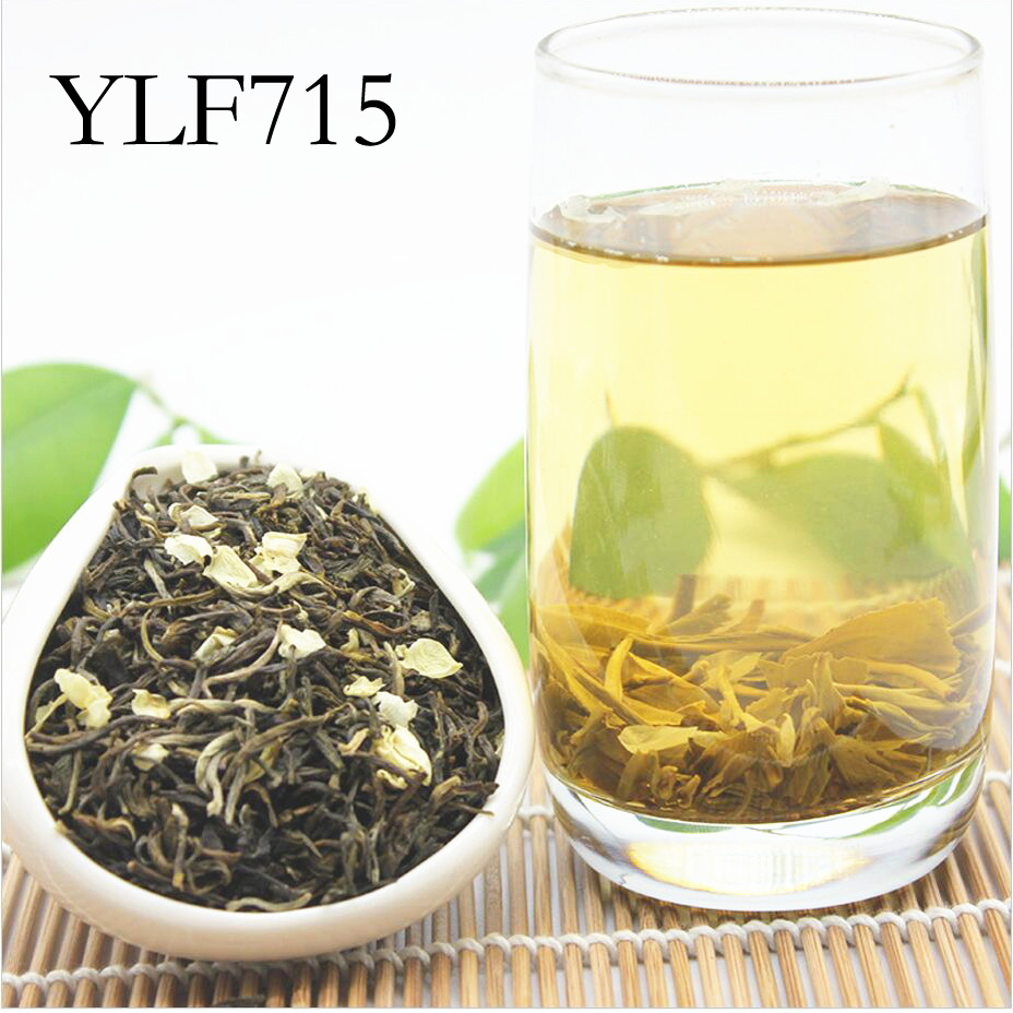 Chinese flower tea - Promotion 250g China 100 Natural Freshest Jasmine Green Tea Flower Tea Organic Food Health Care Weight Loss Free Shipping