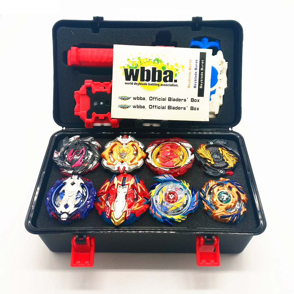 New Launchers <font><b>Beyblade</b></font> Toupie Bayblades Metal Black bables Set burst Fafnir Box bey blade Bey blade Toys For Childn image