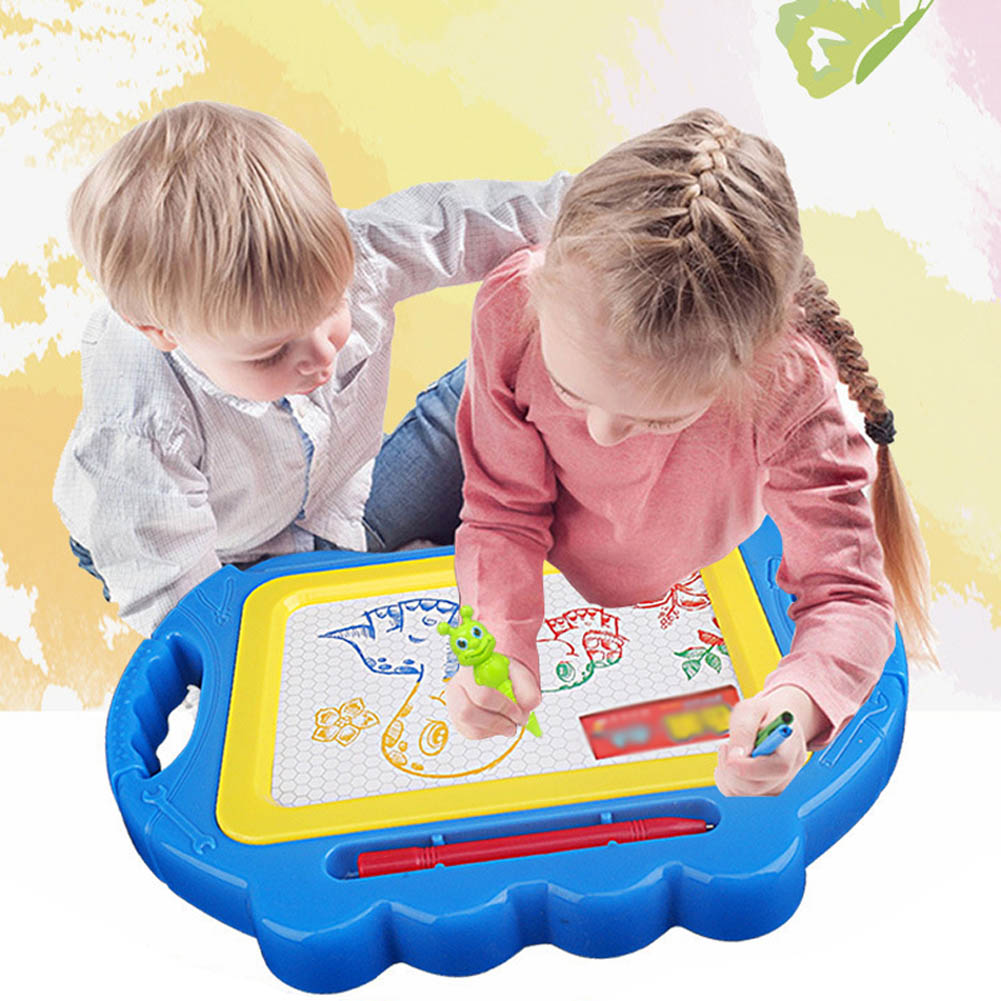 Children's Drawing Board Magnetic Color Writing Board Baby Small Blackboard Graffiti -17 AN88 children drawing board double sided magnetic small blackboard raised lowered easel bracket home painting graffiti writing board
