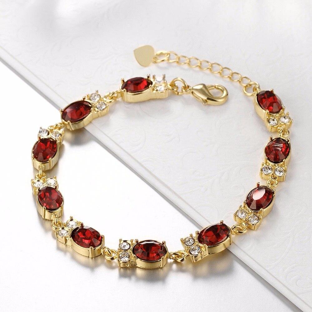 ᓂAmuletos búho pulseras oro color joyería cristalina del envío ...