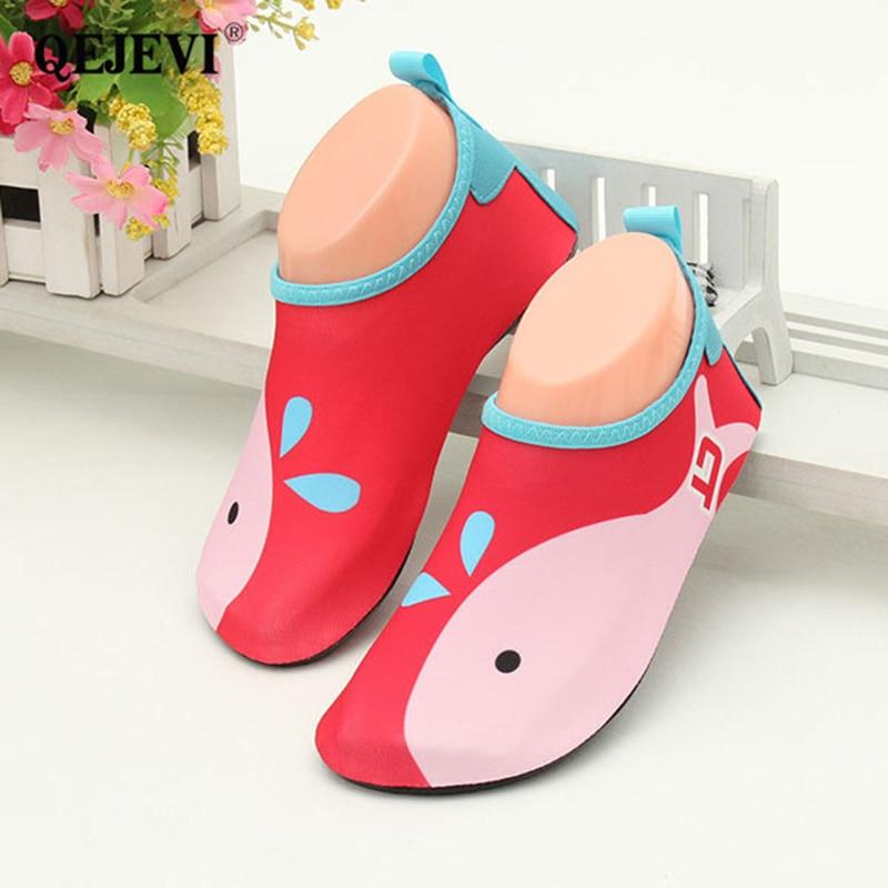 9d6af8065d31ca 2018 Kids Water Shoes Barefoot Skin Footwear Baby Cute Water Shoes Swim  Cheap Best Water Shoes Anti-slip Aqua Socks Beach Shoe