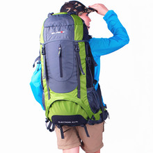 New 60L Waterproof Climbing Hiking Backpack Rain Cover Bag Camping Mountaineering Backpack Sport Outdoor Bike Bag for Travel naturehike climbing bags cover waterproof rain cover for backpack travel camping hiking cycling mountaineering dust covers
