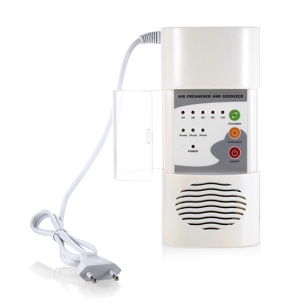 Home Electric Air Ozone Purifier Deodorizer Ionizer Generator Sterilization Germicidal Oxygen Filter Disinfection Room Cleaner household air purifier air ozone generator filter deodorizer ozone ionizer oxygen refrigerator air fresh cleaner air humidifiers