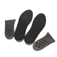 Full Length 2 Layer 5CM Air Bubble Cushion Shoe Lift Height Increase Heel Insoles Pair Shoes