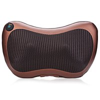 Home Car Multifunction Dual-use Massage Pillow Automobiles Heating Infrared Dish Massager Car Cervical Leg Lumbar Body Massager1