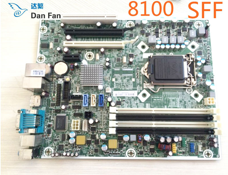 531991-001 For HP Elite 8100 SFF Desktop Motherboard 505802-001 LGA1156 Mainboard 100%tested Fully Work