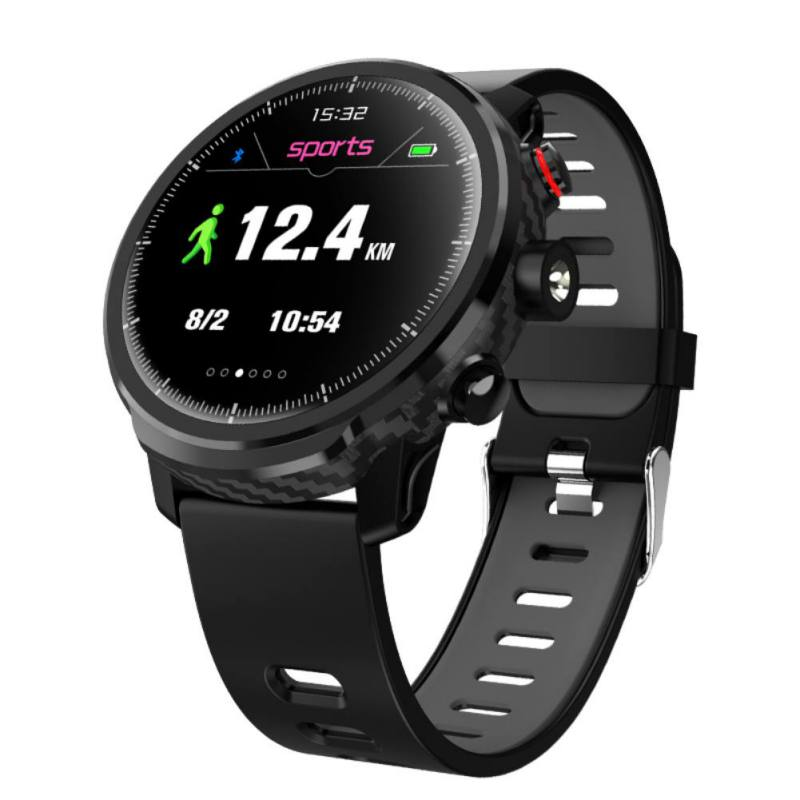 L5 Smart Watch IP68 Waterproof Round Screen Full Touch Sports Meter Step Heart Rate Monitoring Weather Forecast Smartwatch
