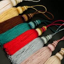 Высокое качество 16 см многоцветный хлопок кисточки ремесла ювелирных изделий сумка Подвески DIY кисточки ювелирных изделий Аксессуары фурнитура