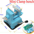 2014 Mini Table Vice Adjustable Max 25mm Plastic Screw Bench Vise for DIY Jewelry Craft Modeling Work Lock Fixed Repair Tools