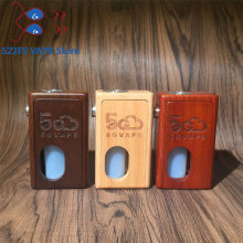 5gvape wood mod squonk bf supercar auto-tuning box mechanical retro design 18650 battery with 8ml squonk bottle vs GEN 25 RDA