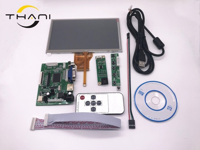 Thani 7inch At070tn12 Raspberry Pi Lcd Touch Screen Display Tft