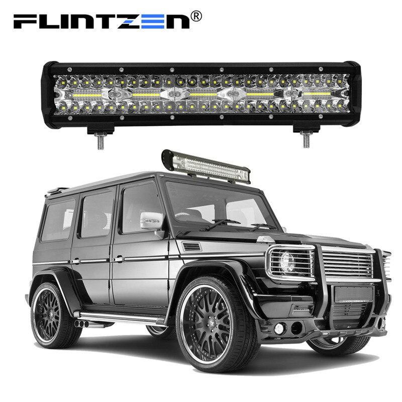 Flintzen 15 pouces 300 w 100 pcs LED de voiture led light bar travail LED pour Offroad voiture lampe d'éclairage Camion tracteur Bateau led éclairage DC9-30V