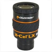 CELESTRON X CEL LX 9 MM עינית שדה של 60 צפה שישה אלמנט באופן מלא רב מצופה עדשת חתיכה אחת עינית לא משקפת