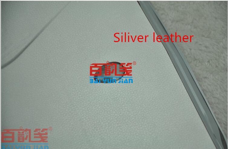 Специальные виниловые наклейки для ноутбука из углеродного волокна для ASUS G75 G75VW G75VX 17,3 дюйма - Цвет: Siliver leather