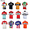 Multi Classical  New Retro Team Pro Cycling Jersey Customized Road Mountain Race Top OROLLING