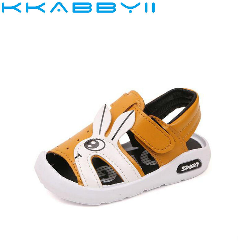 New Boys Summer Beach Sandals Kids Leather Shoes Fashion Sandals Children Sandals For Boys Casual Shoes