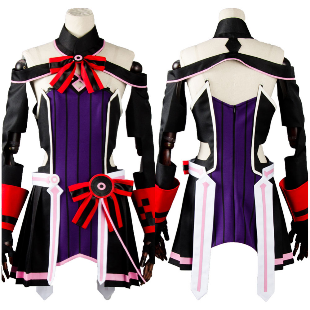 Sword Art Online SAO the Movie Ordinal Scale OS Yuna Cosplay Costume Dress Suit Halloween Carnival Women Men Full Sets