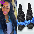 New Arrival Malaysian Virgin Hair Loose Wave 2Bundles/lot 7A Unprocessed Human Hair Weave Bundles Cheap Malaysian Loose Wave